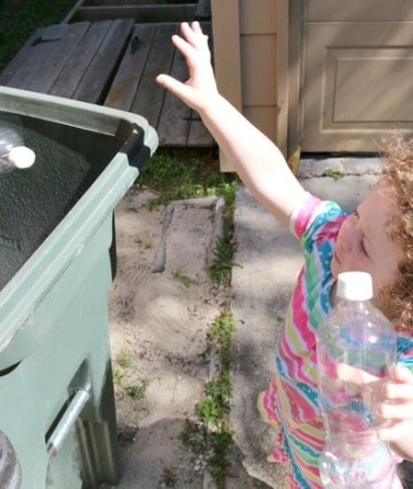 Recycling for Kids is easy with these simple ideas!