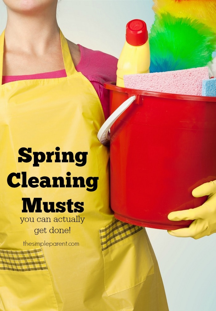 Tackle cleaning with these Spring Cleaning musts and make it easier!