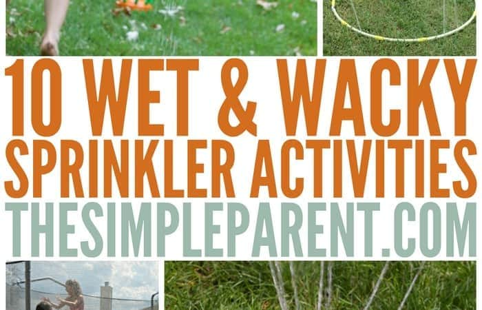 Kids Sprinkler Games and Activities to Keep Them Cool!
