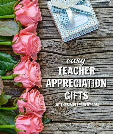 These easy teacher appreciation gifts are great for Teacher Appreciation week or any day of the school year!