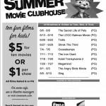 Cinemark Summer Movie Clubhouse Schedule