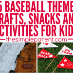 Amazing Baseball Crafts & Activities for Kids