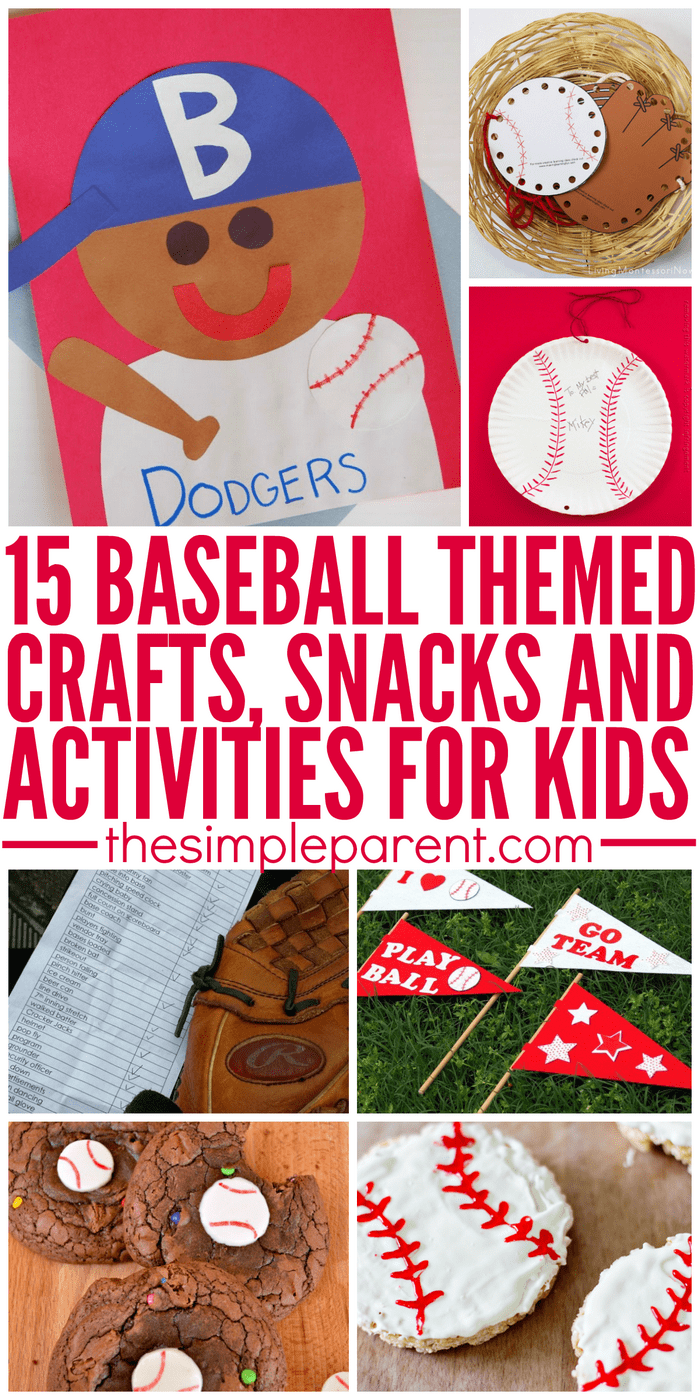 Baseball Crafts For Toddlers