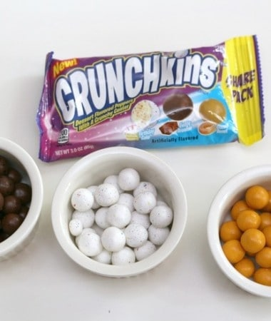 "They're a delightful popper with a creamy coating and a light crunch center. They come in 3 oz. ""Share Packs"" that include all three flavors so it's easy to set up your own taste test!"