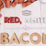 Enjoy the Red, White, & Bacon Menu at Denny's!