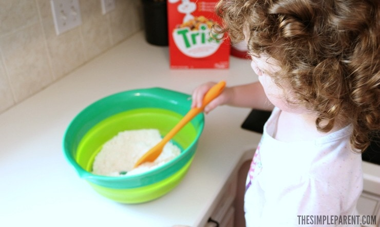 Make this easy Trix cookies recipe with your kids! It's a fun way to make memories in the kitchen!