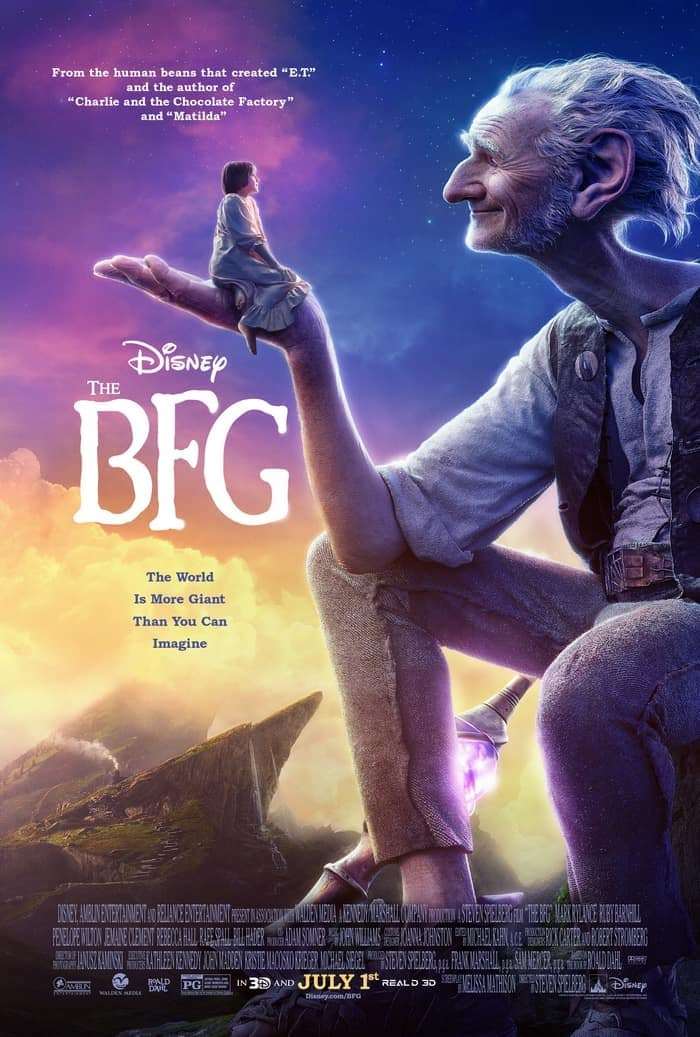 Be sure to see The BFG movie in theaters on July 1st!