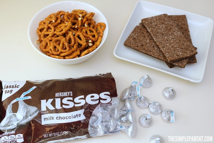Celebrate summer with easy Chocolate Pretzel Bars you can make with the kids!