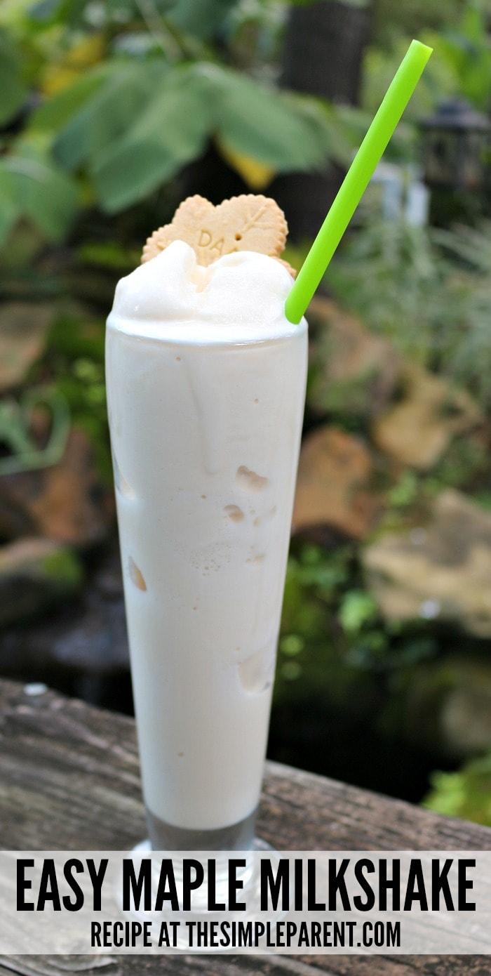 Make summer entertaining easy with this appetizer idea & maple milkshake recipe!