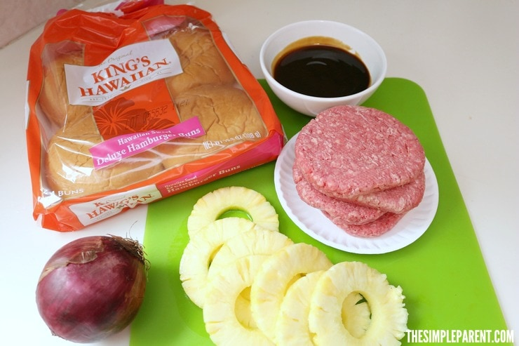 Add flavor to your celebrations with these easy Pineapple Teriyaki Burgers!