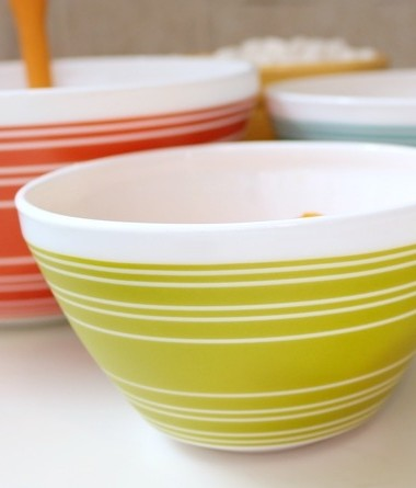 Celebrate nostalgia and make new memories with Vintage Charm inspired by Pyrex!