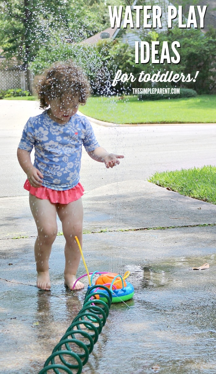 Keep cool this summer with water play ideas for toddlers!