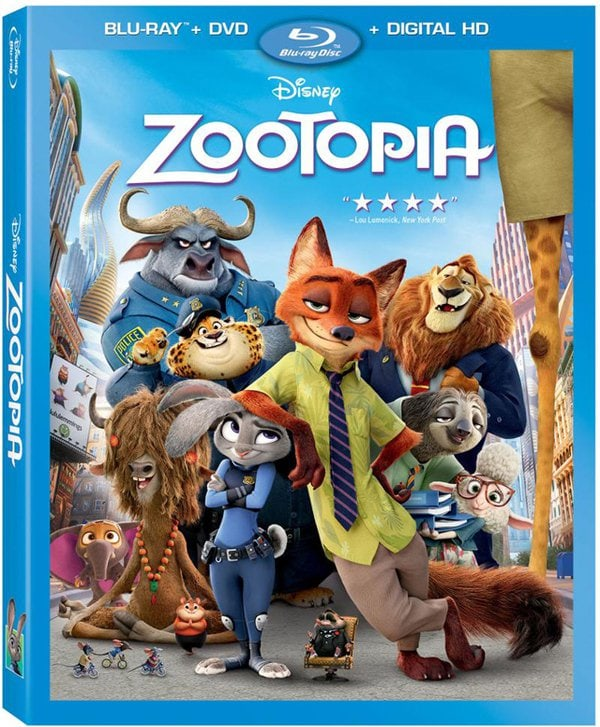 Add Zootopia DVD to your Disney movie collection today!