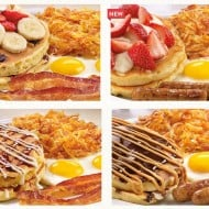 Family Friendly New Pancakes at Denny's