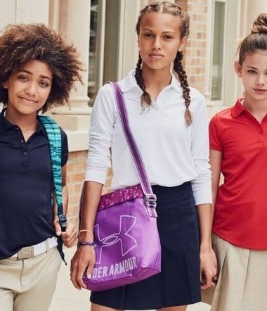 Learn some easy ways to make girls school uniforms cute this year!