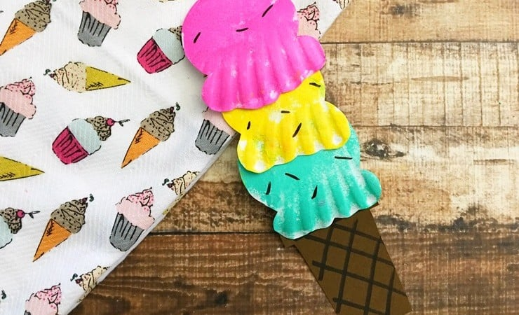 Paper Plate Ice Cream Craft for Sweet Fun