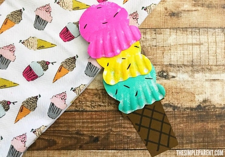 paper plate ice cream craft paper plate craft for sweet 7023