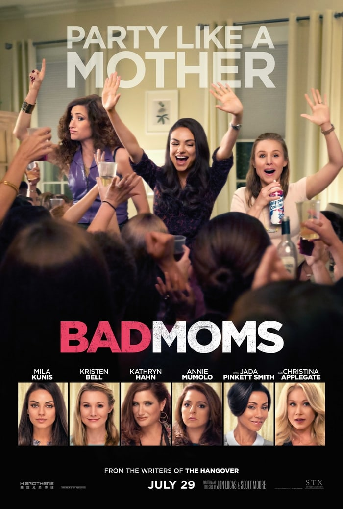 Check out why moms should see Bad Moms! In theaters July 29th!
