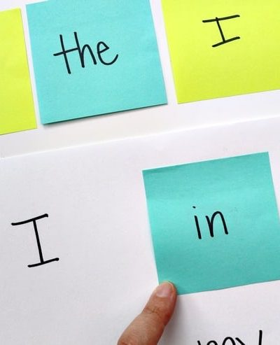 Play this easy sight word matching game with your child to help them build reading skills!