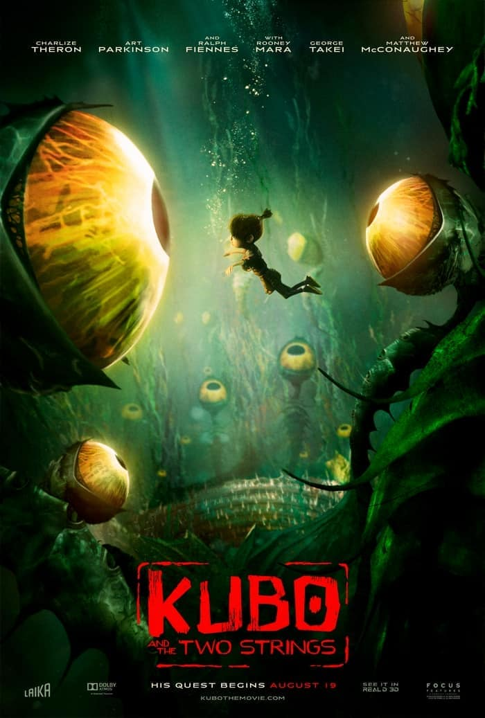 Check out a few reasons why families should see Kubo and the Two Strings!