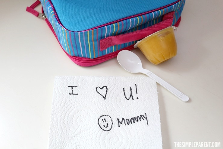 Try these quick and easy ways to make kids school lunch fun!