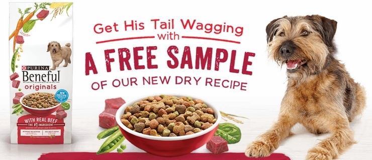Try the new Beneful dog food recipe for free!