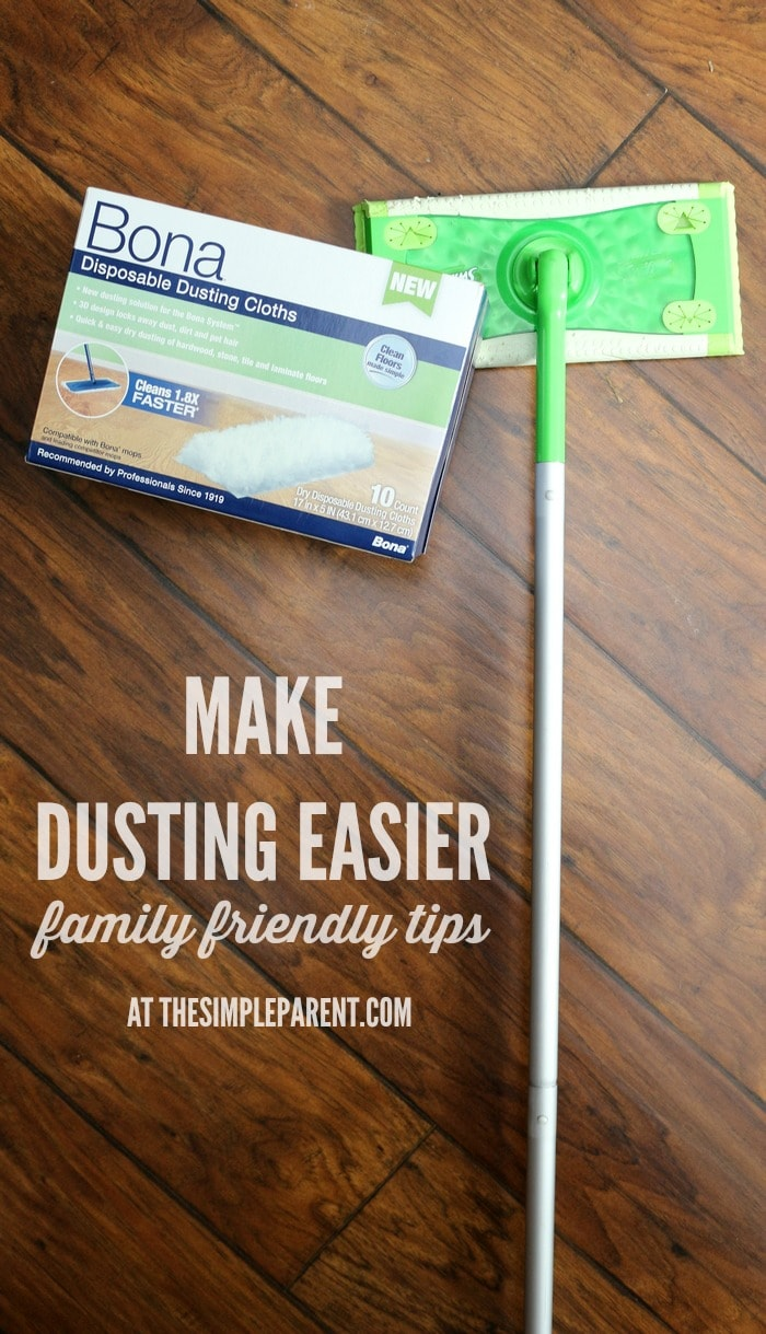 Easy dusting tips for the whole family the simple parent - Tips for dusting your home ...