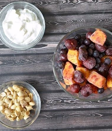 Enjoy a quick snack or breakfast with this easy yogurt parfait recipe!