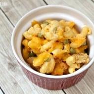 Baked Crunchy Fish Sticks Macaroni Casserole