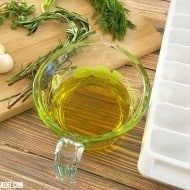 How to Freeze Herbs in Olive Oil for Easier Dinner Prep