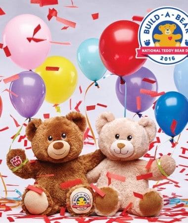 Celebrate National Teddy Bear Day at Build-A-Bear Workshop!
