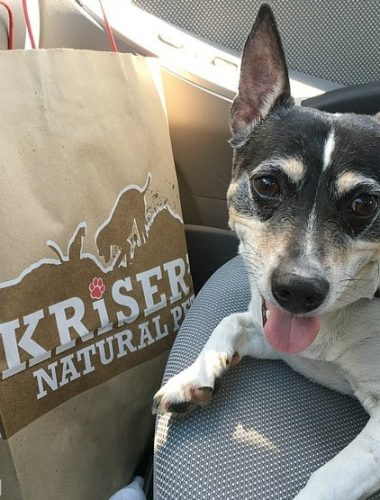 Make a new dog gift basket gift with help from Kriser's Natural Pet store!