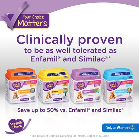 Show a new mom support with help from Parent's Choice® Infant Formula!