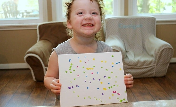 Preschool Art Activities with Creative Galaxy