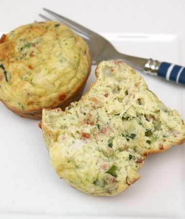 Make mornings easier with this easy Scrambled Egg Muffins recipe!