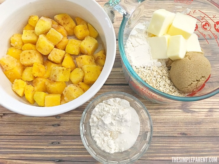 Make this easy Mango Cobbler recipe for dessert tonight!