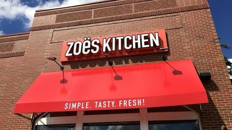 Zoës Kitchen Giveaway (10/18)