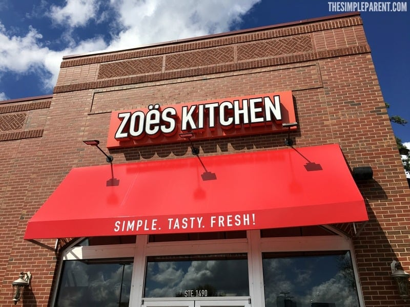 Get outside with the kids! Make your playground lunch menu easy with a visit to Zoe's Kitchen!