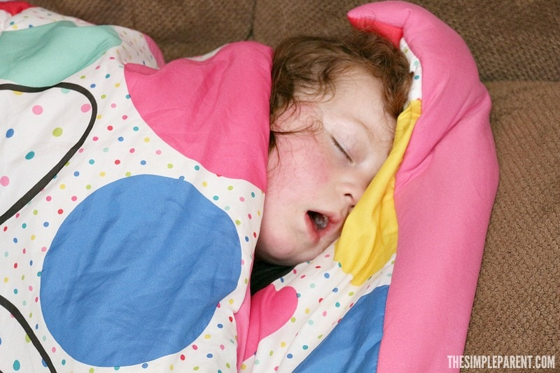 Try these quick sick day tips the next time your kids get sick!