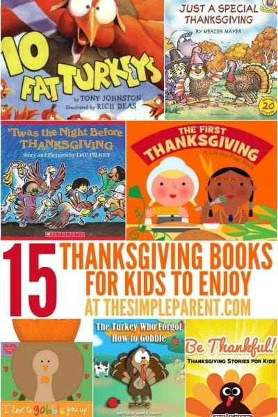 15 Thanksgiving Books for Kids