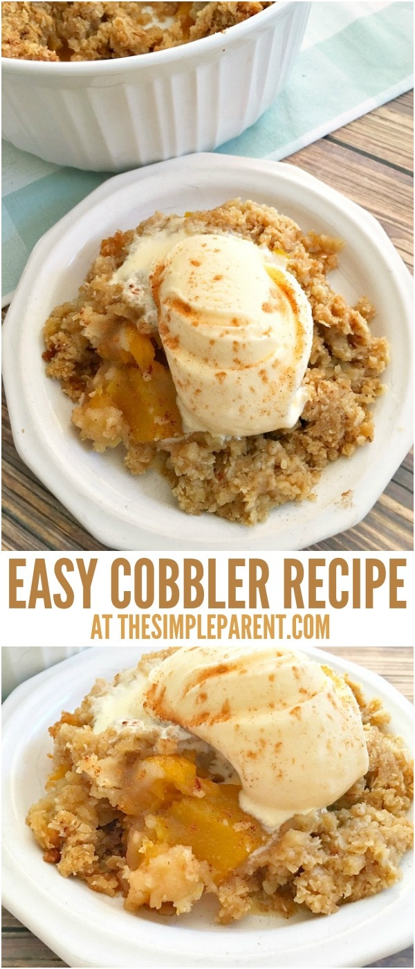 Make this easy mango cobbler recipe this holiday season!