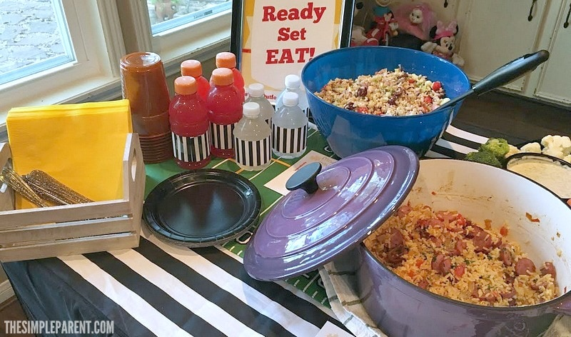 Make Easy Layered Bean Dip for your next get together!