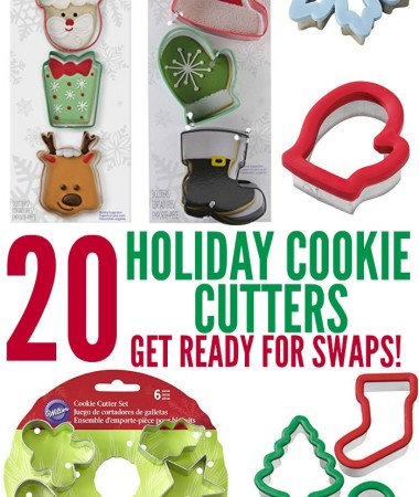 Pick up some new holiday cookie cutters and get ready for holiday cookie swaps!