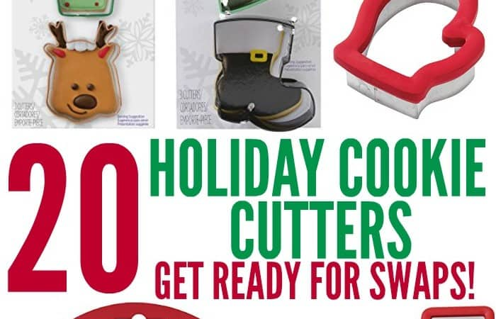 20 Holiday Cookie Cutters for Your Cookie Swap