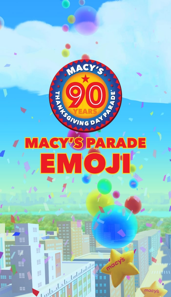 Enjoy the Macy's Thanksgiving Day Parade with some extra fun apps this year!