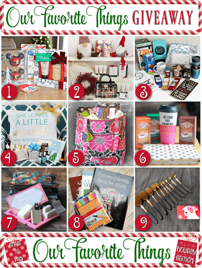 Enter to win My Favorite Things Holiday Giveaway!