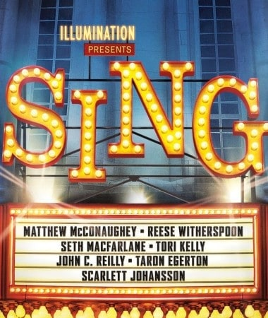 Don't miss SING the movie in theaters on December 21st!