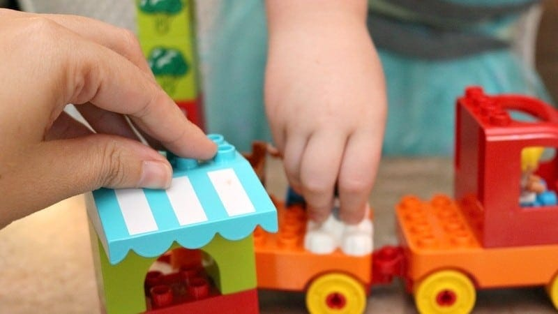 Toddler Playdate Ideas with LEGO DUPLO Bricks