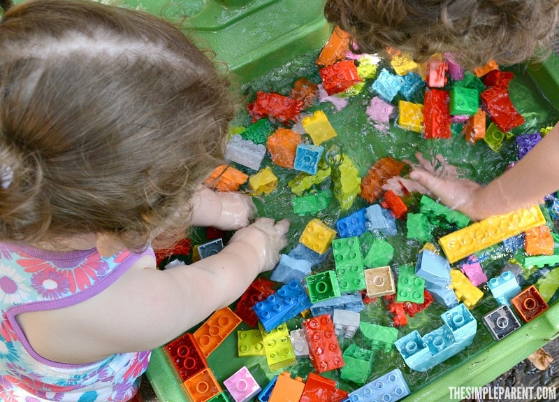 Need some easy toddler playdate ideas? Add some LEGO DUPLO bricks to the mix and watch the fun take off!