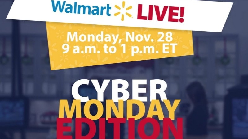 Join the #WalmartLIVE Twitter Party on Cyber Monday!